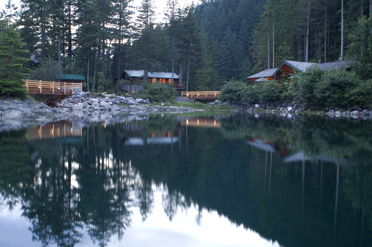 Lodging In British Columbia Bc S Fishing Getaway Dent