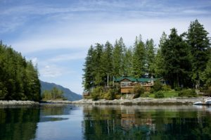 BC fishing lodge